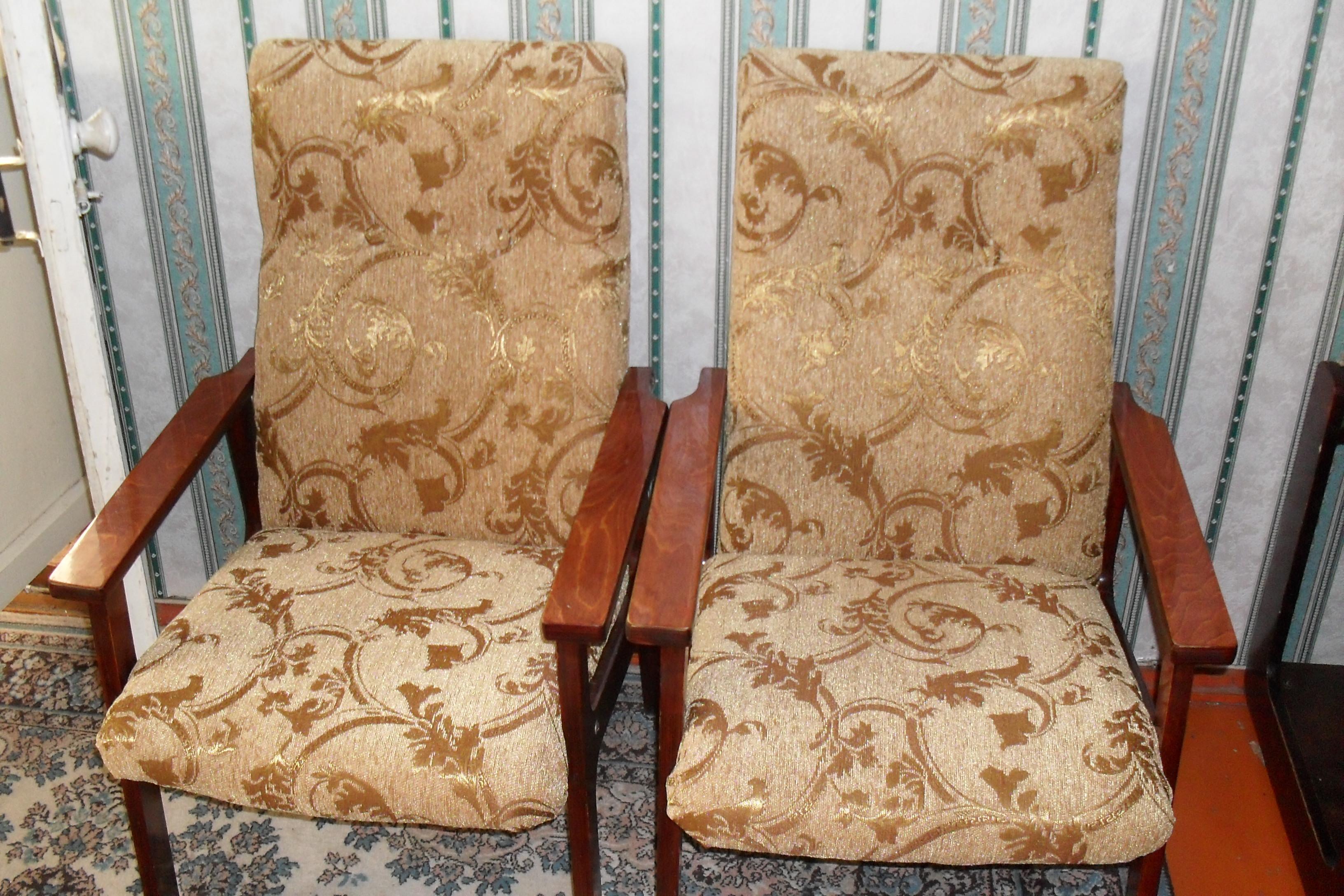 Старинные кресла своими руками